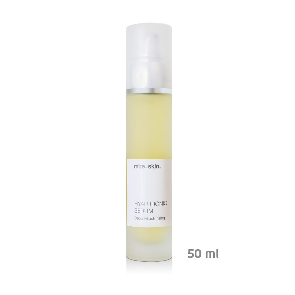 The Mira-Skin Hyaluronic Serum 50 ml bottle