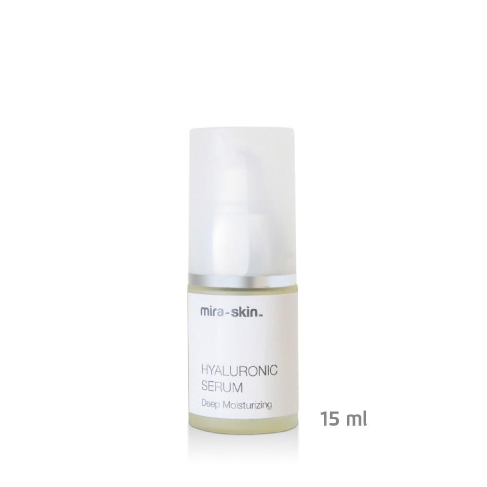 The Mira-Skin Hyaluronic Serum 15 ml bottle